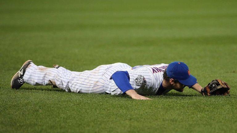 Daniel Murphy #28 of the New York Mets
