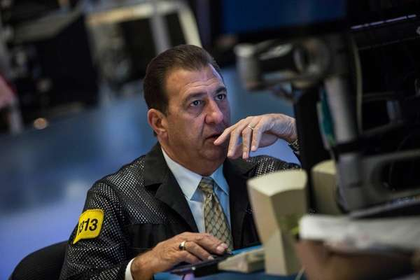 Wall Street was pensive Monday, Nov. 1, 2015,