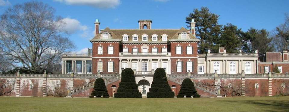Old Westbury Gardens, a Charles II-style mansion located