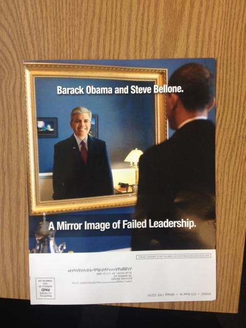 O'Connor mailing says Bellone and Obama are mirror