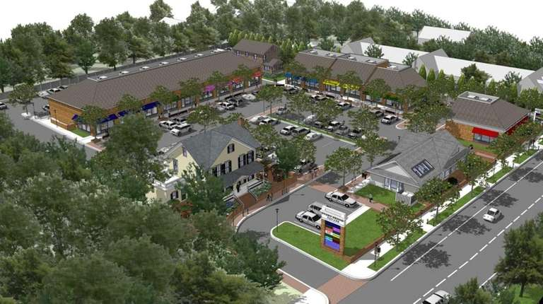 A developer has proposed a shopping center to