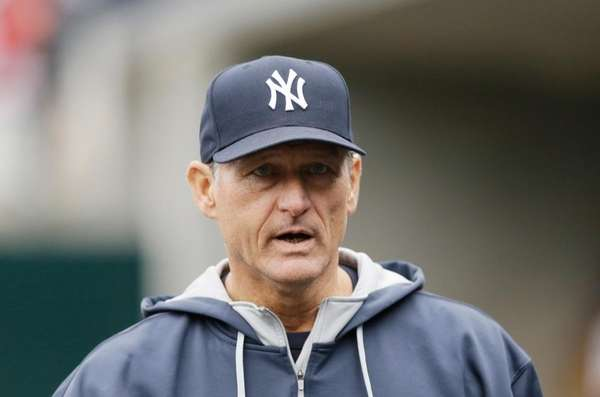 New York Yankees assistant hitting coach Alan Cockrell