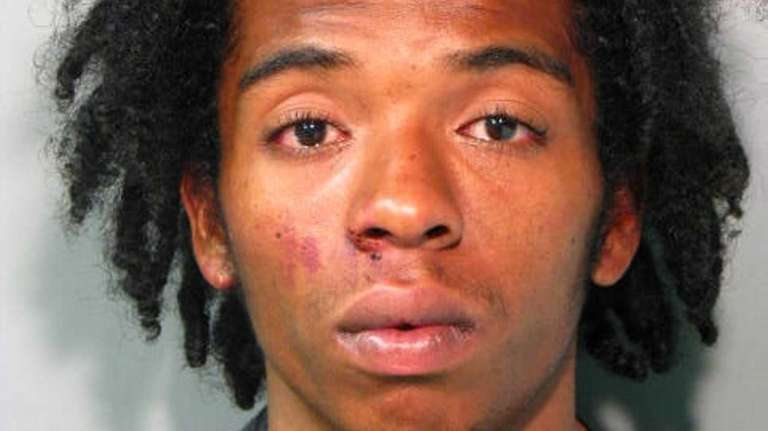 Carlos Morinville, 22, of Westbury, was arraigned on