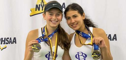 Courtney Kowalsky and Celeste Matute of Oyster Bay