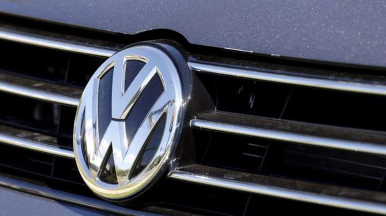 Shares in automaker Volkswagen are sliding after U.S.