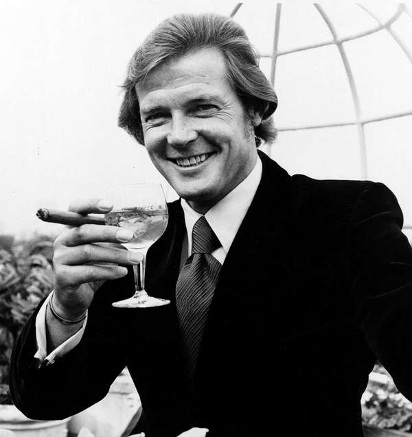 Roger Moore, the first Englishman to play James