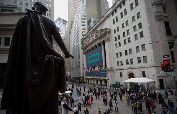 Stocks dipped when markets opened Tuesday, Nov. 3,