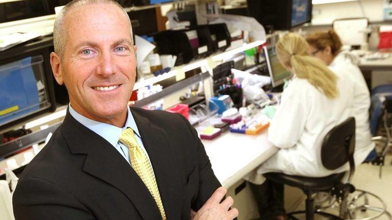 Chembio Diagnostics chief executive John J. Sperzel at