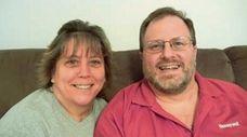 Christine and James Kern of East Islip met