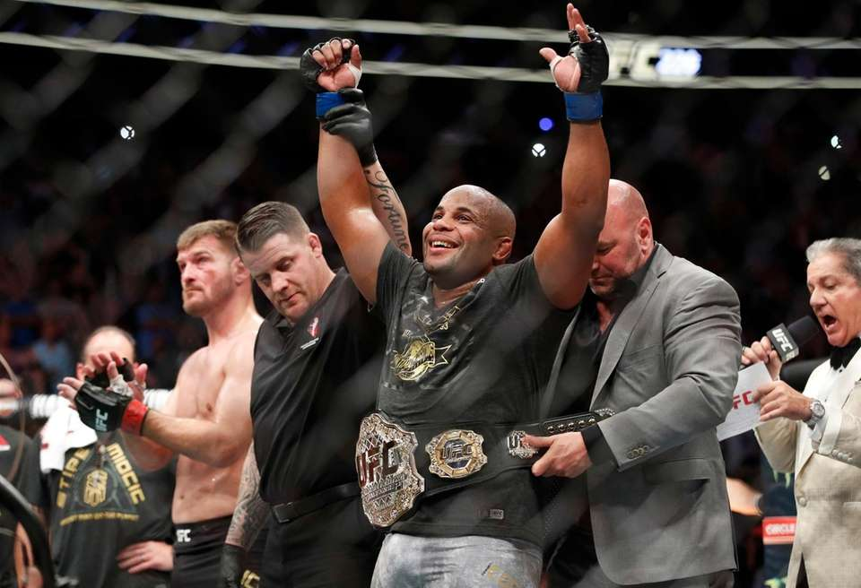 Daniel Cormier's ascension to the top spot on