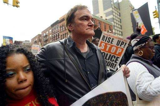 Quentin Tarantino says law enforcement groups are trying