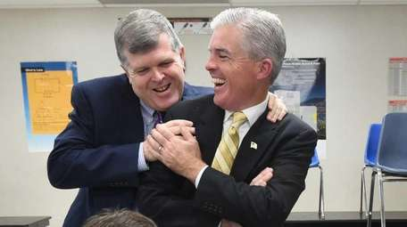Suffolk County Executive Steve Bellone and Democratic Committee