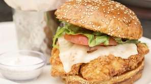 The Cheesecake Factory's Spicy Crispy Chicken Sandwich and