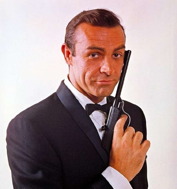 Sean Connery graced audiences with his James Bond