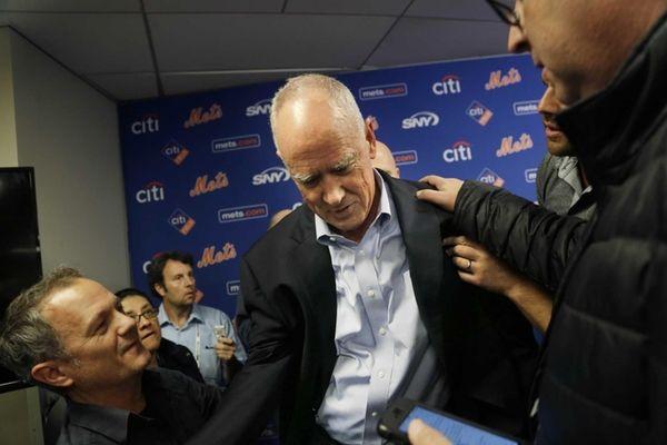 New York Mets general manger Sandy Alderson is