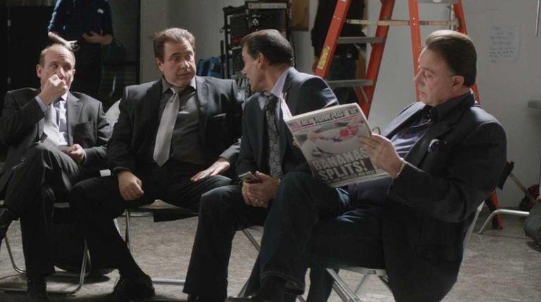 From left, Armen Garo, Louis Vanaria, David Brown,
