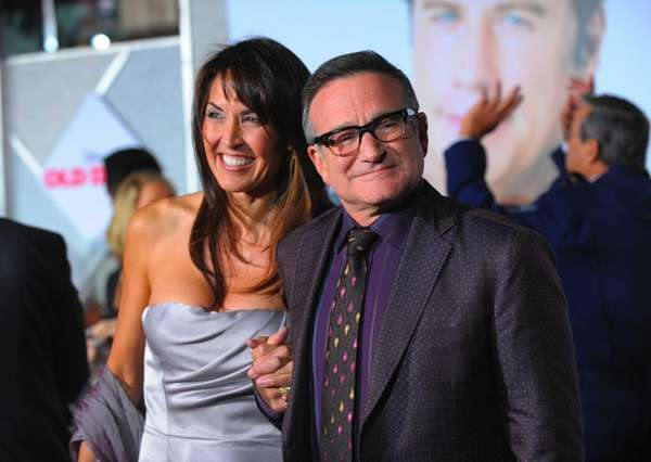 Robin Williams' widow Susan Schneider Williams discusses taking