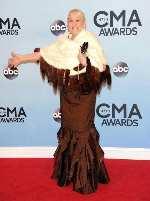 Lynn Anderson arrives at the 47th annual CMA