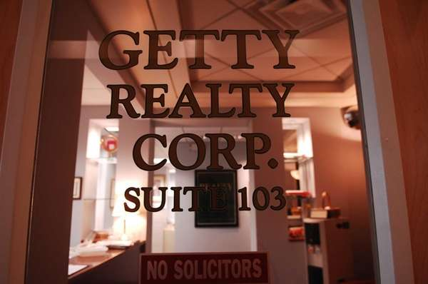 Getty Realty Corp.'s Jericho-based office is seen in