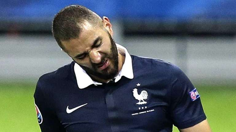 France striker Karim Benzema has been charged Thursday