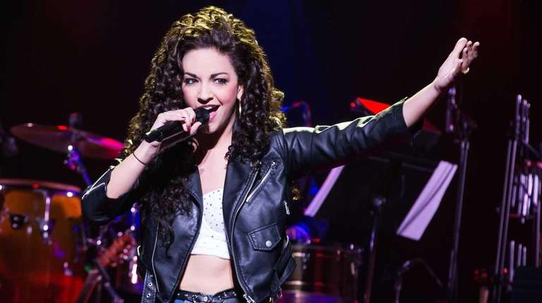 Ana Villafañe as Gloria Estefan in the musical