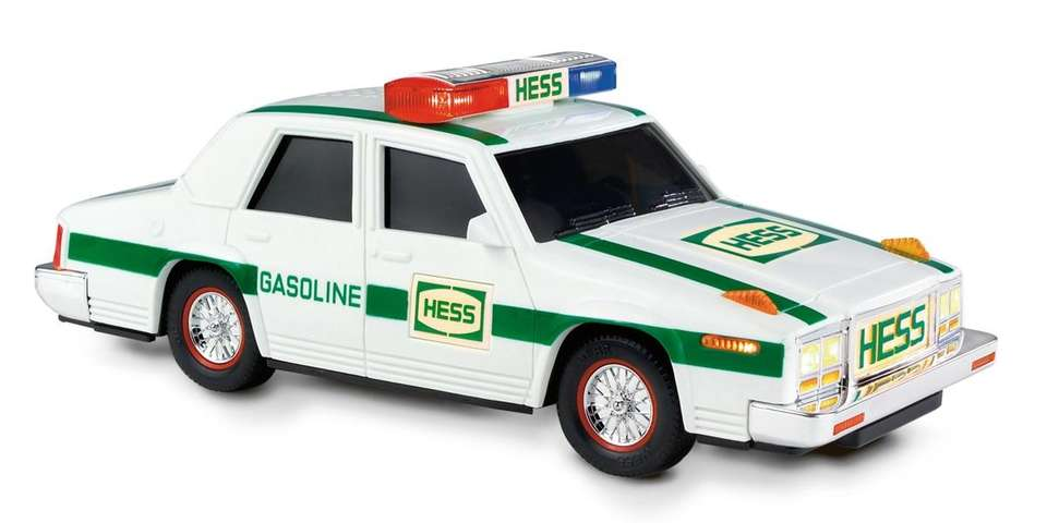 The first car ever featured in the Hess