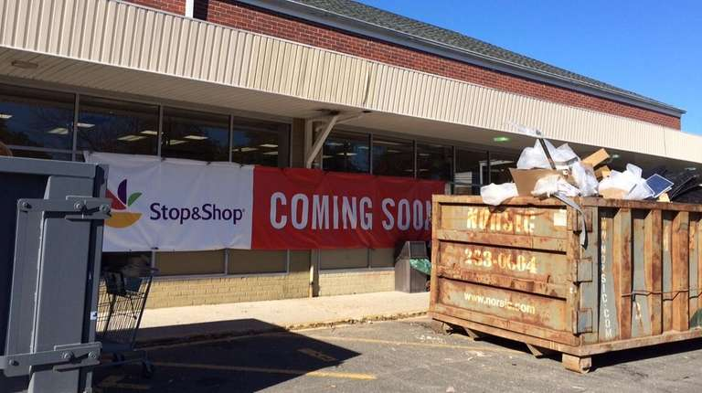 Stop & Shop converted this Waldbaum's in Southampton