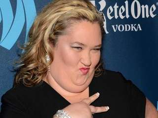 3.16.12 Mama June @ GLAAD awards