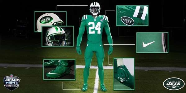 The Jets unveiled a new set of Kelly