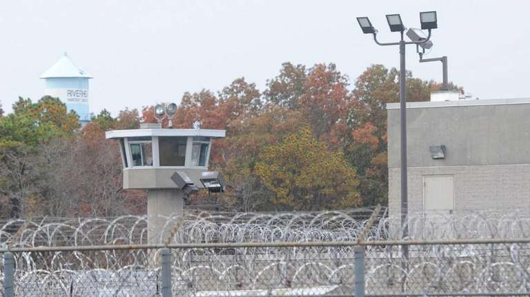 The Suffolk County jail in Riverhead on Thursday,