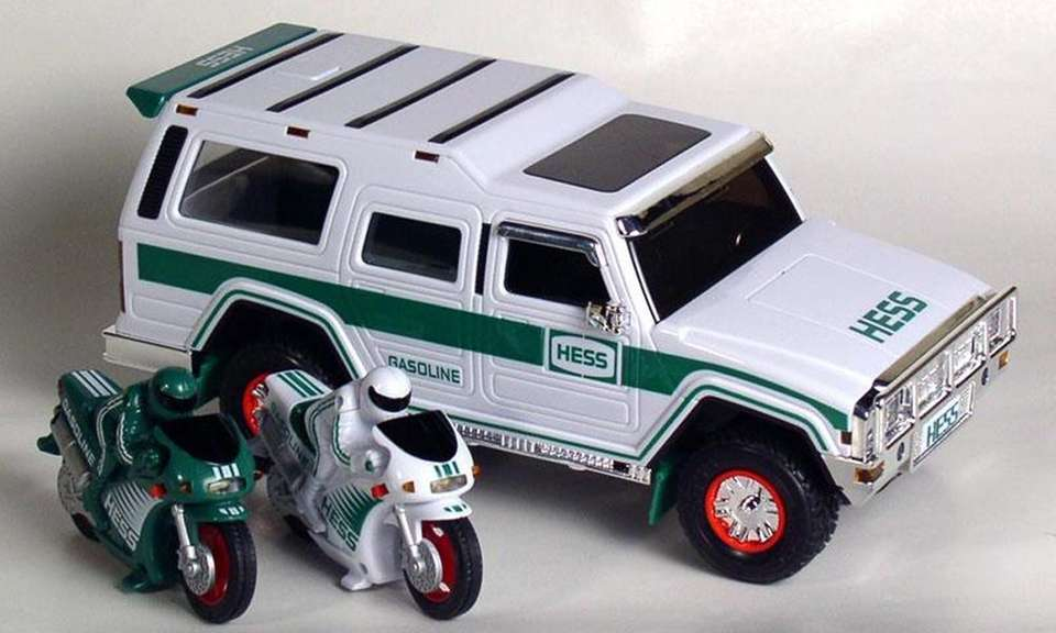 The Hess Toy Truck celebrated 40 years with