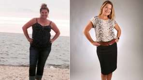 Dina Shingleton, of Amityville, lost 40 pounds in