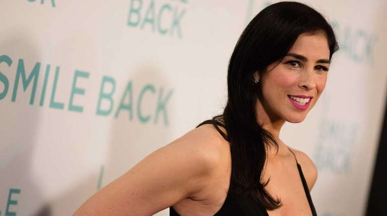 Sarah Silverman arrives at the premiere of