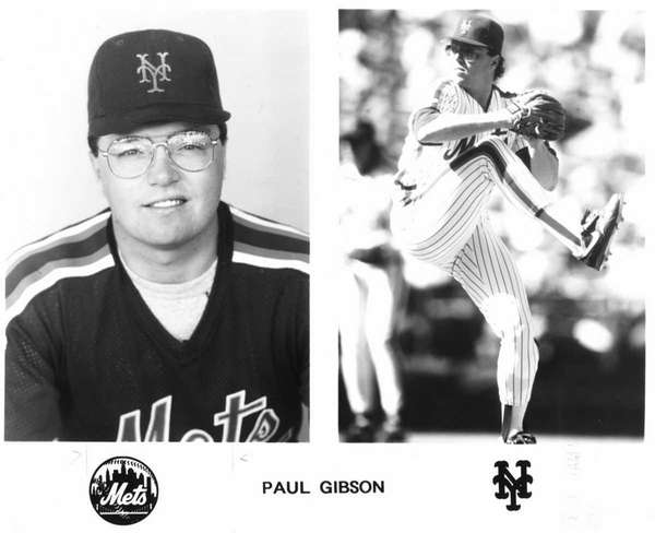 Paul Gibson, a Royals scout from Center Moriches,