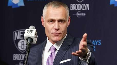 Brooklyn Nets/Barclays Center CEO Brett Yormark speaks about