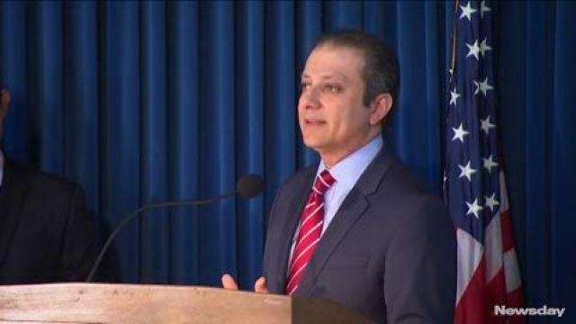 US Attorney Preet Bharara's office says the
