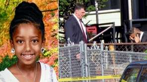 Amiyah Dunston, 9, of Baldwin, was fatally mauled