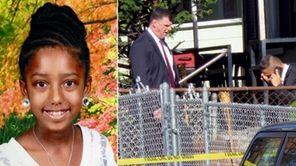 Amiyah Dunston, 9, of Baldwin, was fatally mauled