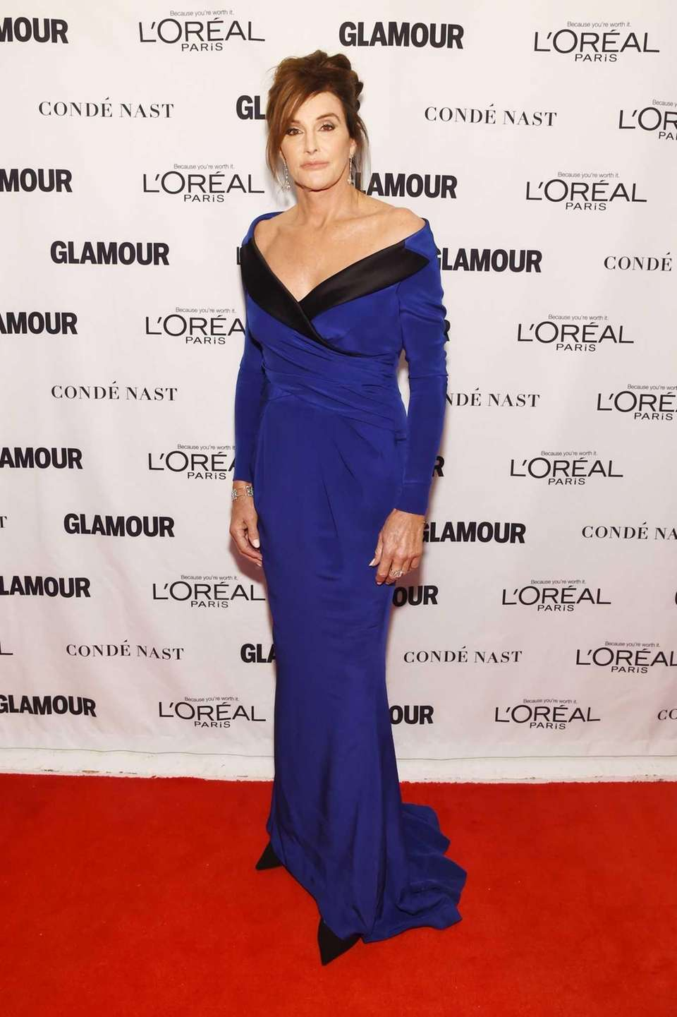 Caitlyn Jenner at the 2015 Glamour Women of