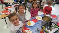 In Centerport, kindergartners at Washington Drive Primary School