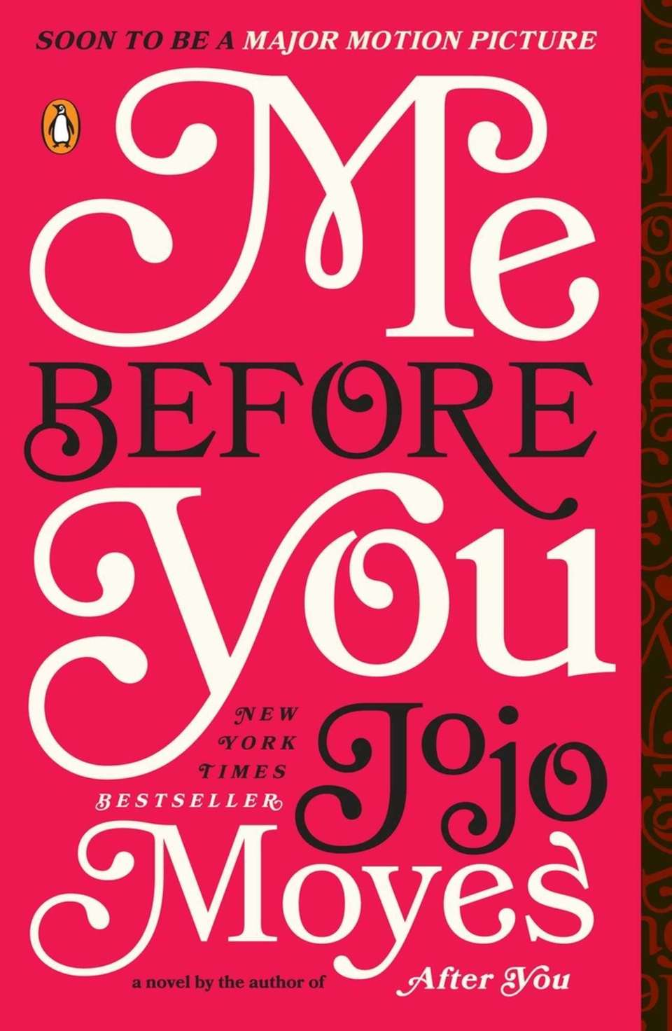 By Jojo Moyes, about a young woman who
