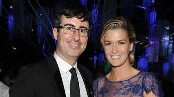 John Oliver and wife Kate Norley are now