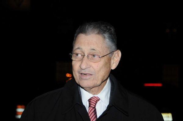 Former State Assembly Speaker Sheldon Silver leaving the