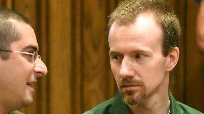 David Sweat, right, talks with his lawyer, Joseph