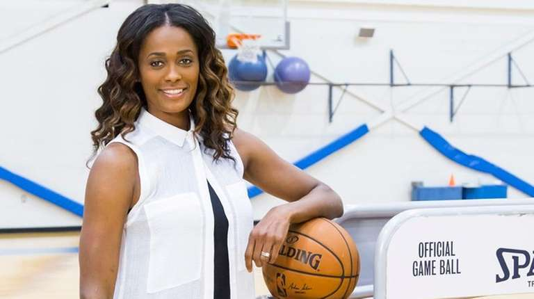 The Liberty's Swin Cash is taking on a