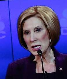 Former Hewlett-Packard executive Carly Fiorina.