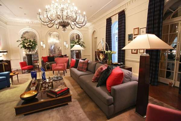 Manhattan interior designer James Rixner played up the