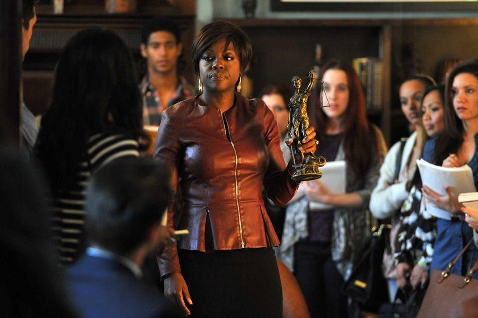 Viola Davis stars as a criminal defense attorney