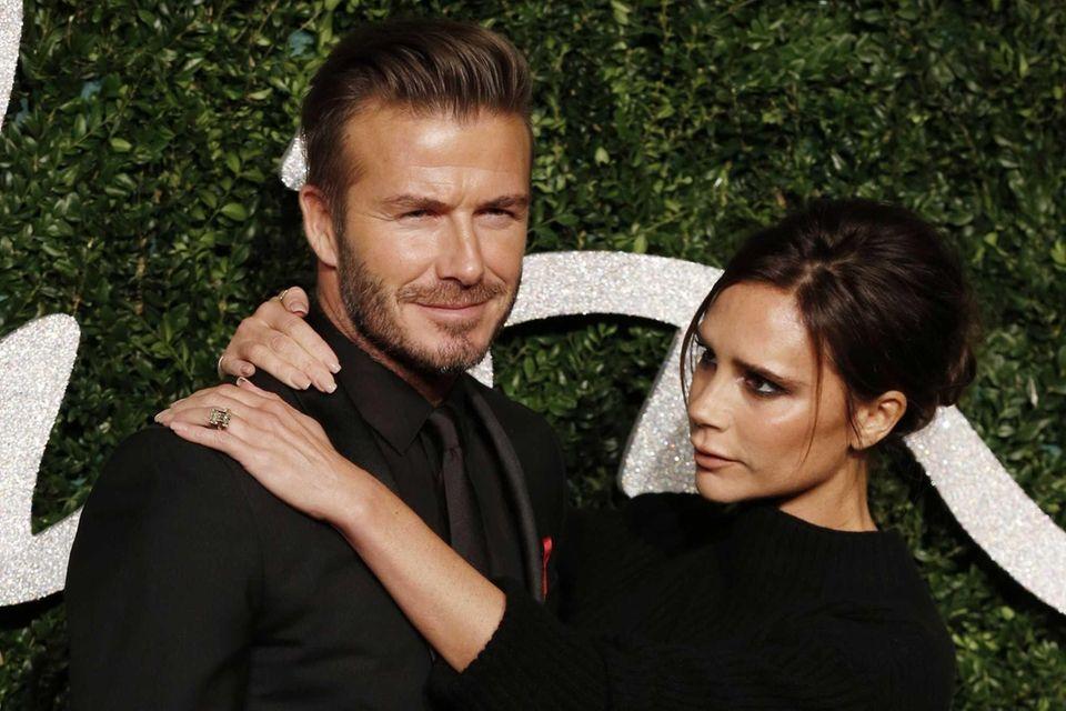 Former British soccer player David Beckham was named