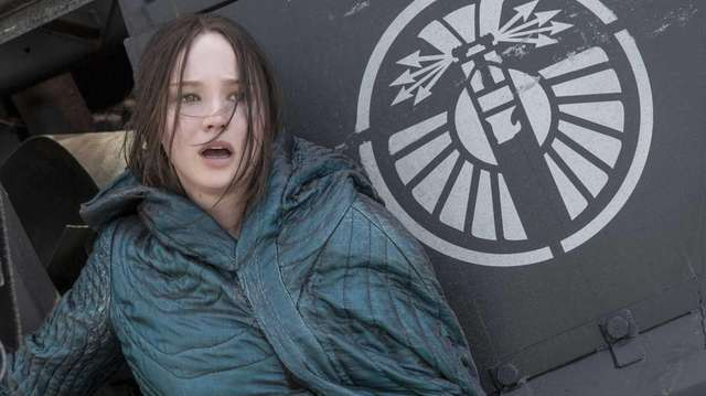 In her final turn as Katniss Everdeen, Lawrence's